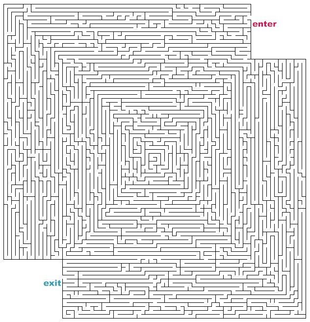 Pin Hard Printable Mazes on Pinterest