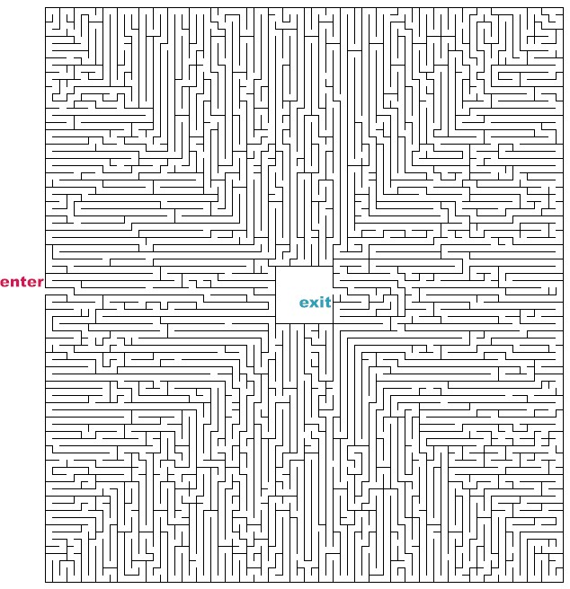 Difficult Mazes to Print Printable Hard Mazes to Print