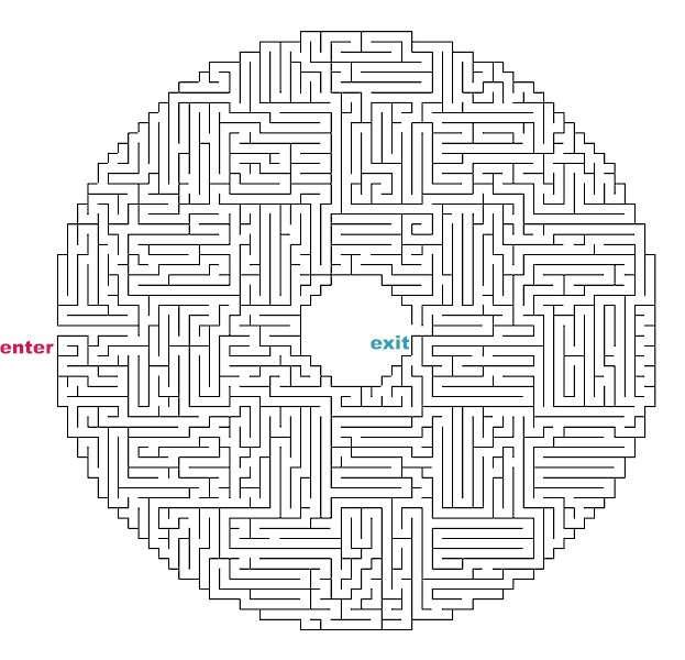difficult mazes to print - photo #46