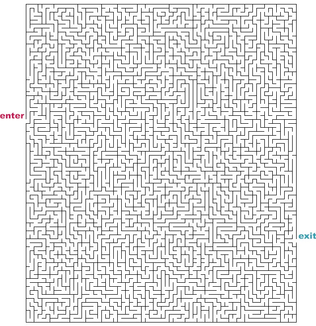 Hard Rectangle Mazes