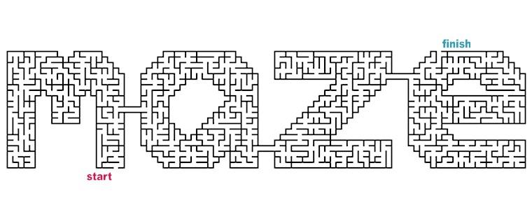 Mazes to Print - Word Mazes
